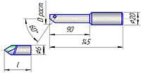 Оправка расточная 6300-4019-06 ф20 (20...52)