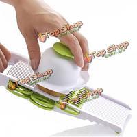 5шт/набор фруктов растительное шредер слайсер измельчением устройство многофункциональный резак ручной картофеля