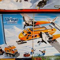 Конструктор детский для мальчиков 10441. Спасательный самолет.