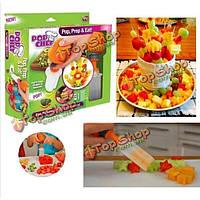 Посуда шеф-повар поп-фруктовые украшения инструмент поделки фруктов резьба набор инструментов