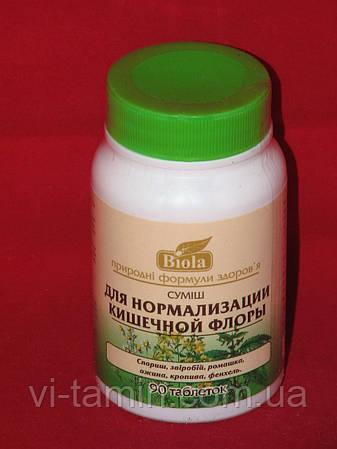 Смесь для нормализации кишечной флоры Biola 90 табл.
