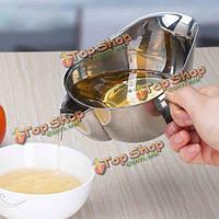 304 нержавеющая сталь кухонный масляный фильтр чаша суп жира сепаратор инструмент сетчатый фильтр кулинария
