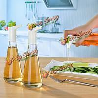 Творческий Swan форма контролируемой масленка стекла хранения соевый соус приправа бутылка кухня