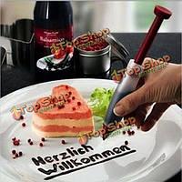 Силиконовые печенье шприц торт Крем Кубок шоколад украшения перо
