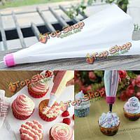 Кондитерские изделия крем торт двойной обледенения труб мешок кекс декоративные выпечки инструмент
