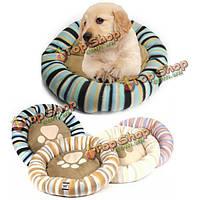 Pet собака щенок теплая удобная кровать пончик уютный щенка питомники мягкая подушка собака