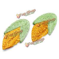 ПЭТ натуральные нетоксичные моляров мочалку кукурузной формы игрушки