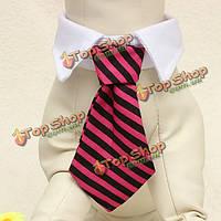 Питомец собака кошка регулируемый галстук смокинга венчания нарядные платья галстук воротник