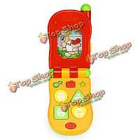 Детская музыкальная детская раковина моллюска мобильного телефона звонит детям образовательные игрушки