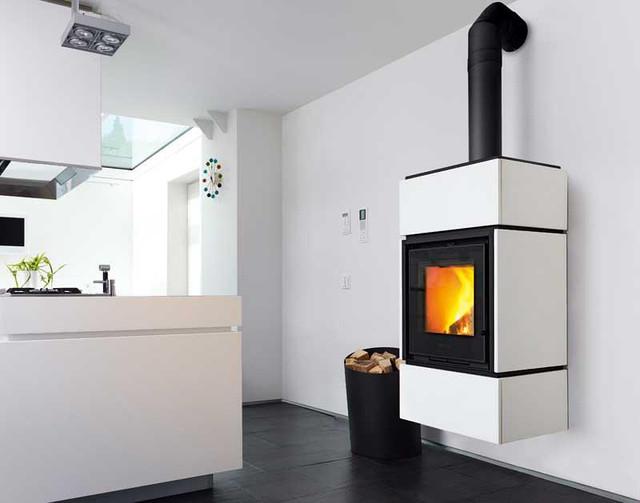 QUBE3 9 кВт - Печь на дровах Piazzetta Италия, фото 1
