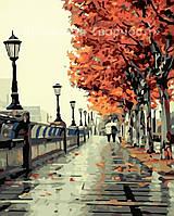 Картина по номерам Осенний сквер, 40*50см, (КН2115)