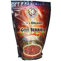 Натуральные ягоды годжи, Earth Circle Organics,  454 г