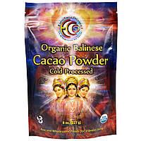 SALE, Органический балийский какао-порошок, Earth Circle Organics,  227 г