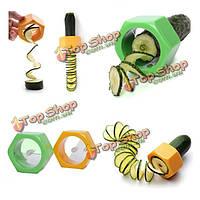 2шт растительное огурец спиральные срезы кухня гаджеты кухонные инструменты