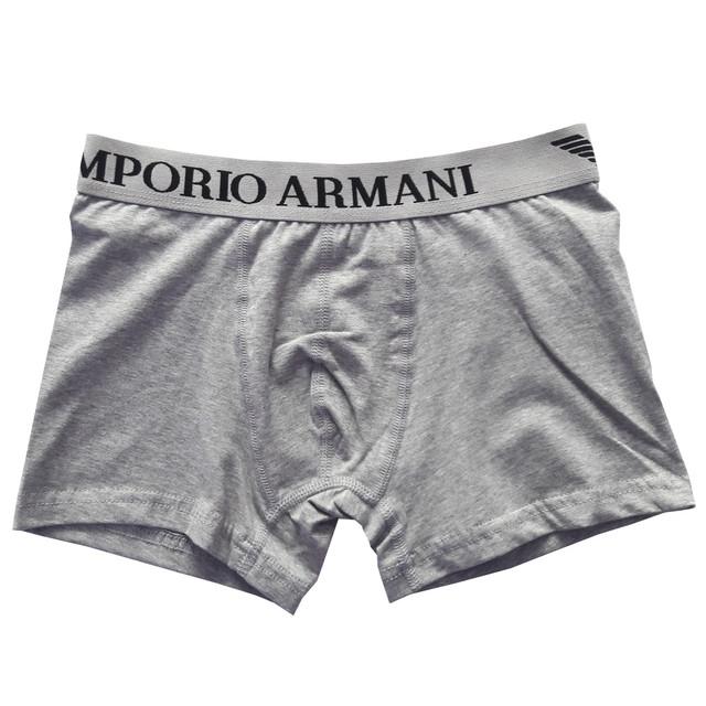 Серые трусы Emporio Armani