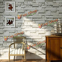 Кирпич узор 3d текстурированные нетканое обои наклейка фон украшение дома