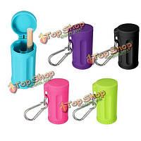Мини-портативный цвет пепельницы конфеты прочный карманный ABS Материал пепельницы с брелка