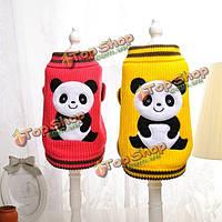 Свитер кошки собаку панды comforable теплый осенний зимний свитер