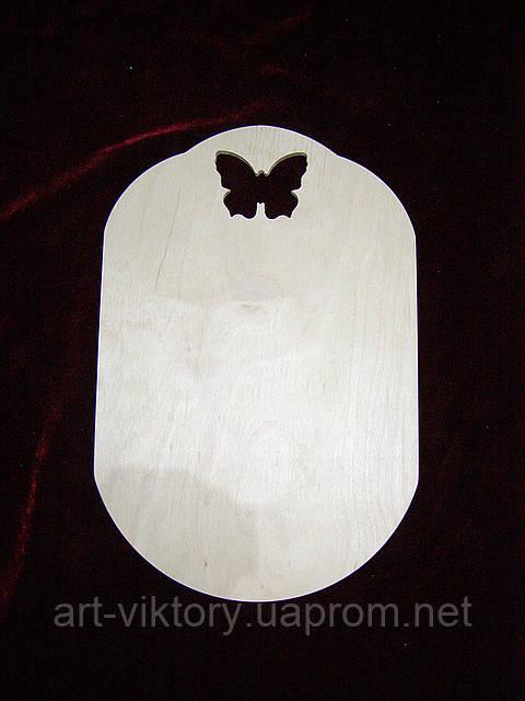 Дощечка з метеликом (20 х 30 см)