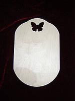 Досточка с бабочкой (20 х 30 см)