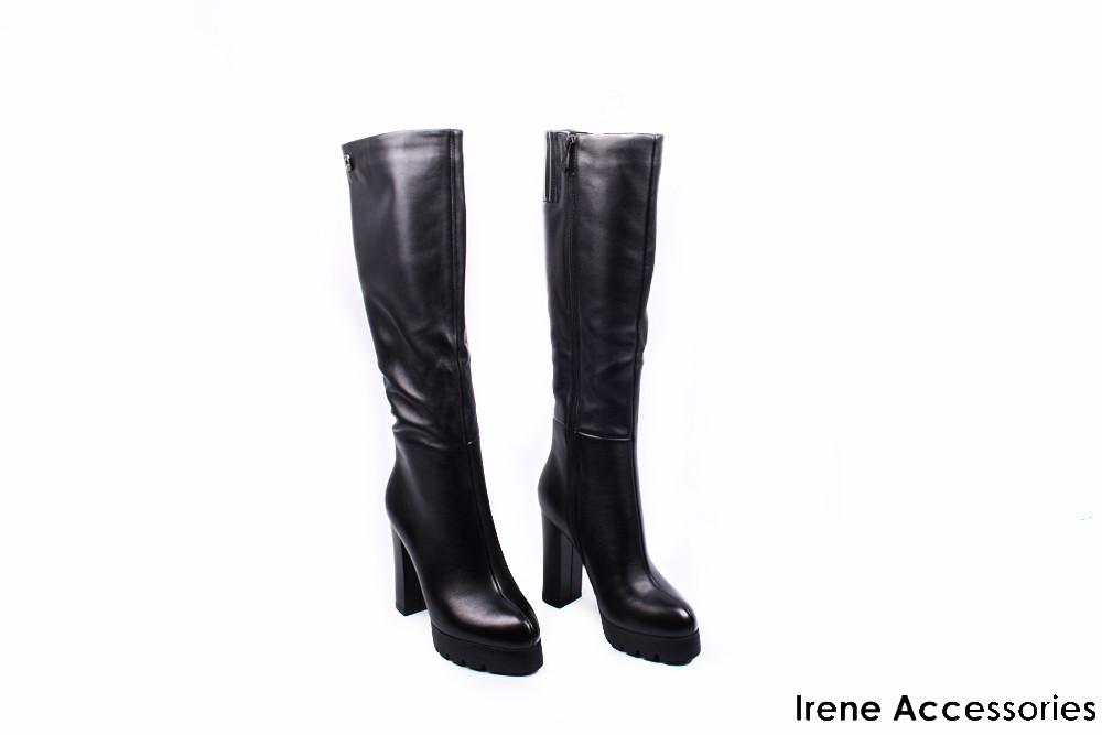 e49f99fe1015 Сапоги женские кожаные Angelo Vani (ботинки высокие, байка с 35р)