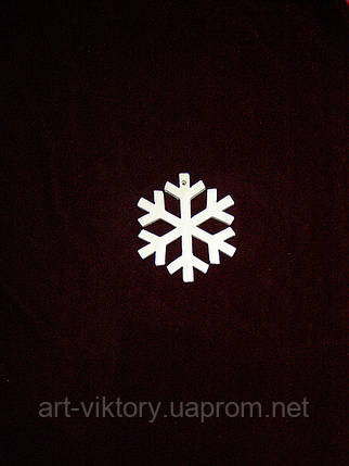 Снежинка подвес, фото 2