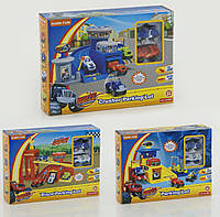 Игровой набор Гараж Вспыш и чудо-машинки 828-61-62-63