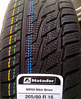 Шины 205/60 R16 92H Matador MP92 Sibir Snow