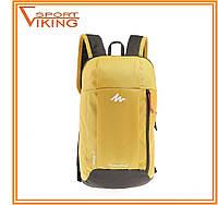 Рюкзак городской 10л Quechua желто - черный