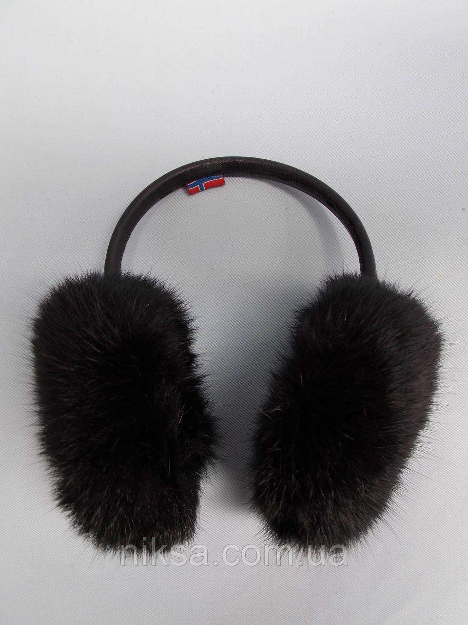 Женские меховые наушники из натурального меха кролика  продажа 214a9adbc10b0