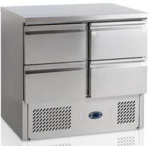 Стол холодильный Tefcold SA914
