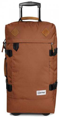 Неповторимая сумка на колесах 78 л. Tranverz М Eastpak EK66279L коричневый