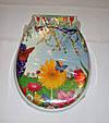Сиденье мягкое с крышкой для унитаза  Aqua Fairy Classic, белая, фото 10