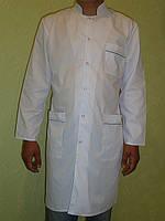 Медицинский халат мужской. Ткань батист. Опт 190 грн. Розница 250 грн.