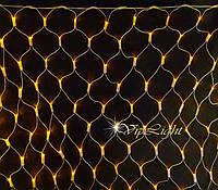 Световая ламповая сетка Net Light 2,2х0,6м /черный ПВХ / Neo-Neon
