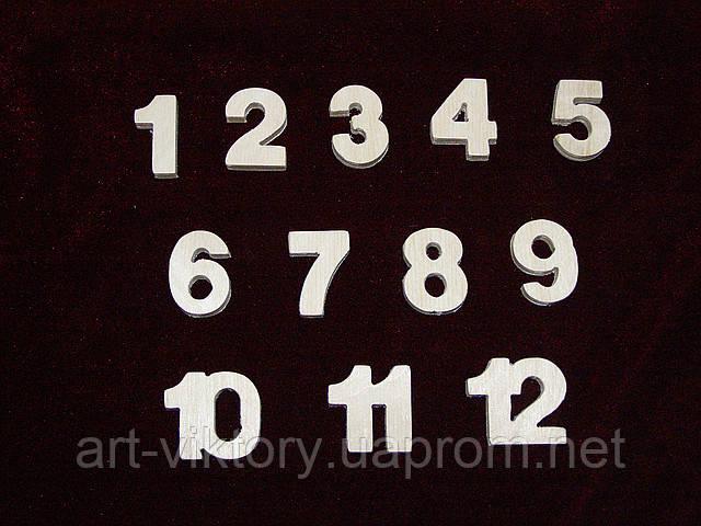 Цифри для годин і просто (набір)