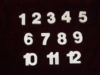 Цифры для часов и просто (набор)