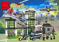 """Конструктор Brick  110 """"Полицейский участок"""" 430дет."""