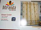 Штора для ванной комнаты Miranda 180*200, Турция, 1820-4