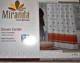 Штора для ванної кімнати Miranda 180*200, Туреччина, 1820-5