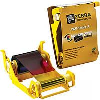Красящая лента (риббон) на 200 печатей Zebra Zxp 3 YMCKO