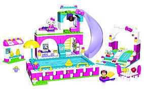 Mega Bloks Хеллоу Китти Водный парк Hello Kitty Splash N' Swim Water Park