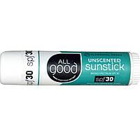 Солнцезащитный стик, SPF 30 Sunstick, без запаха, Elemental Herbs, 17 г
