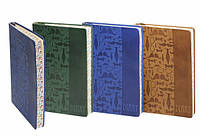"Блокнот WB-5642 (A5 144л.) в линию интеграл обл ""Тиснение - галстук, очки, бабочка, смайл, усы"""