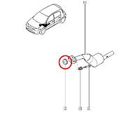 Кольцо приемной трубы глушителя Renault Megane II -1.4i, 1.5dci, 1.6i Производство Renault Франция 8200520353