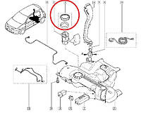 Крышка топливного насоса Renault Scenic II (Рено Сценик 2). Оригинал, Франция 7701207449
