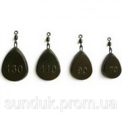 Боковой груз Плоский Технокарп 70-130 гр