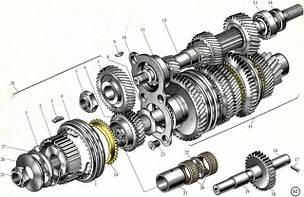Коробка передач КПП и сцепление запчасти комплектующие б/у