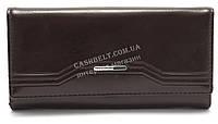 Женский стильный кошелек COSSROLL art. Q01-5242 темно коричневый