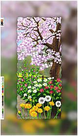 """Схема для вышивки бисером на подрамнике (холст) """"Пейзаж. Весна"""""""